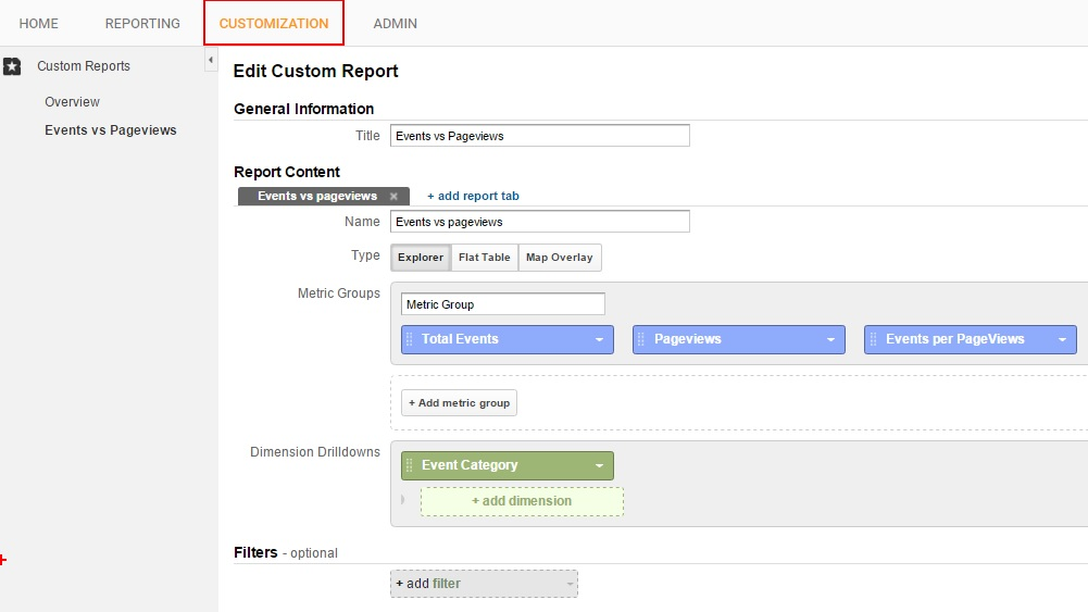 google-analytics-custom-report